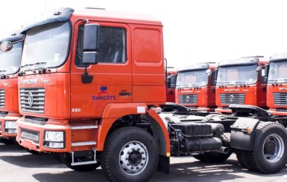 SHACMAN Delivers Additional 400 Trucks To Dangote
