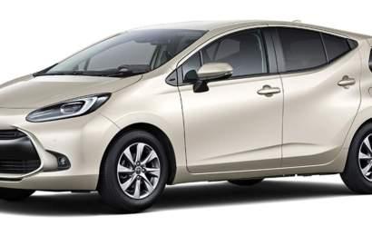 Toyota Unveils New Aqua Electric Car
