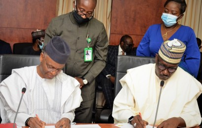 NNPC, Kaduna, Sign MoU 0n Gas Utilisation, Expansion