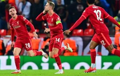 Liverpool Beat AC Milan In 5-Goal Thriller