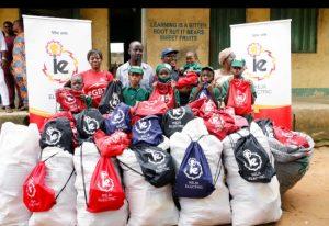Ikeja Electric donates educational materials to Lagos school