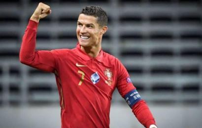 Ronaldo Breaks International Goal Record
