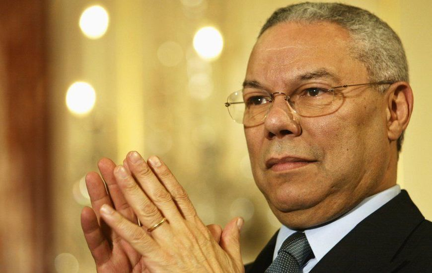 Buhari Commiserates With America Over Colin Powell's Death