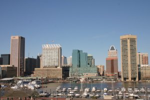 Baltimore Skyline Downtown