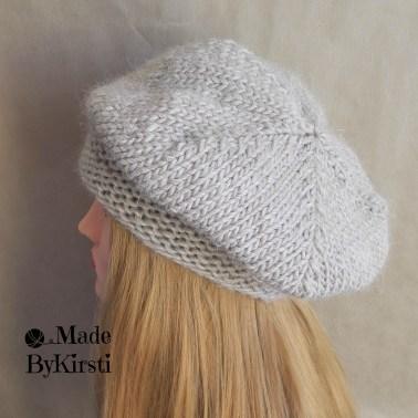 handmadeshop, warm woolen winterhat, barett