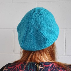 knitted-fall-beret-blue-merino-wool-womens-hat