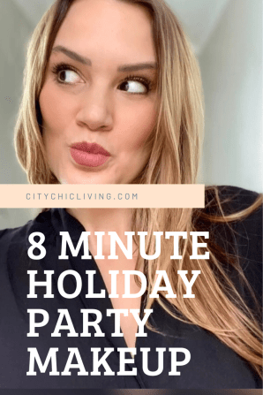 8 minute flawless party look