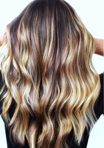 blonde lowlights