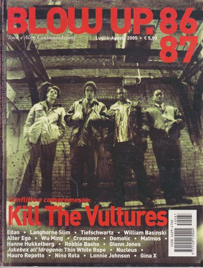 Kill the Vultures featured on the front cover of a European magazine. (Photo: Submitted by Casselle)
