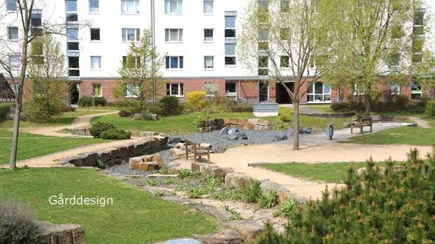 Gårddesign, Kronsberg, Hannover
