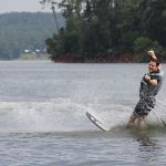 Waterskiing Bonds Generations of Dads, Sons