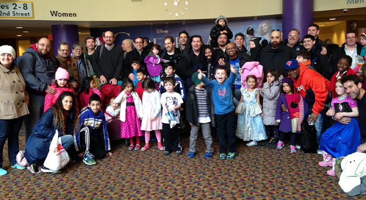 disney cinderella nyc dads group