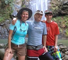 Maggie Miller, Doug Gertner and son Jordy