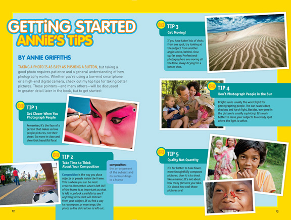 National Geographic Kids Guide to Photography tips