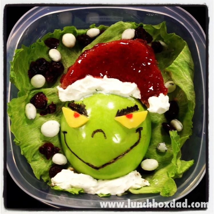 grinch christmas lunchbox