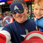 Dads Have Superhero Real Strength
