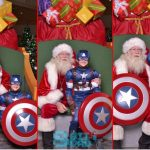 The Superhero Who Visits Santa