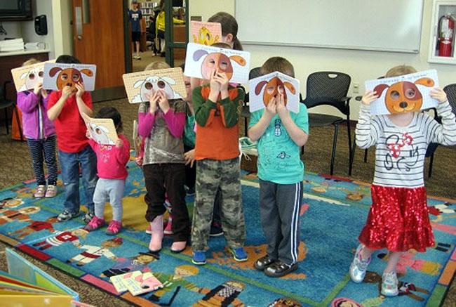 preschool reading classroom