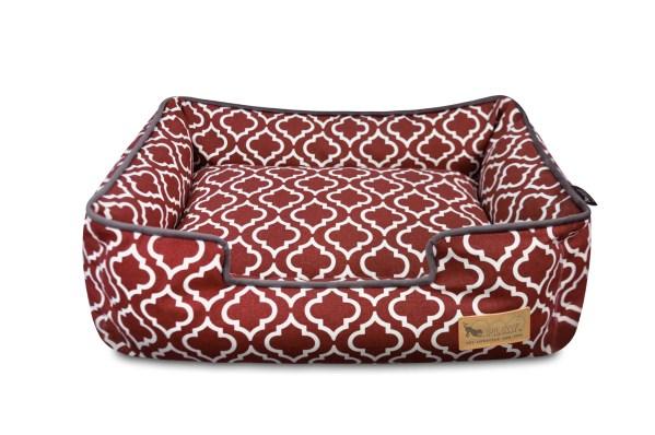 Moroccan Lounge Bed Marsala