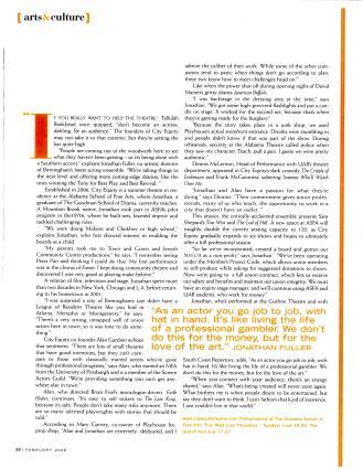 CET in Portico magazine, February 2008 (article)