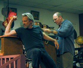 Teach (Jonathan Fuller) & Donny (Alan Gardner)