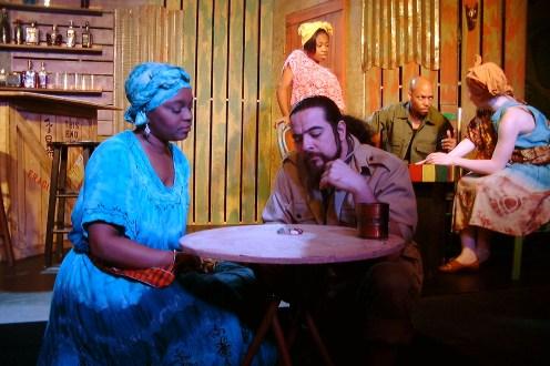Mama Nadi (Chalethia Williams), Mr. Harari (Lito Tamez), Mazima (Whitney Ashante McWilliams), Jerome Kisembe (Sylvester Little, Jr.), KeKe (Markeitra Gilliam)