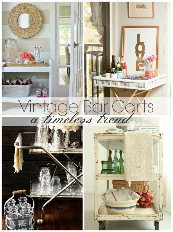 Vintage Bar Carts-A Timeless Trend