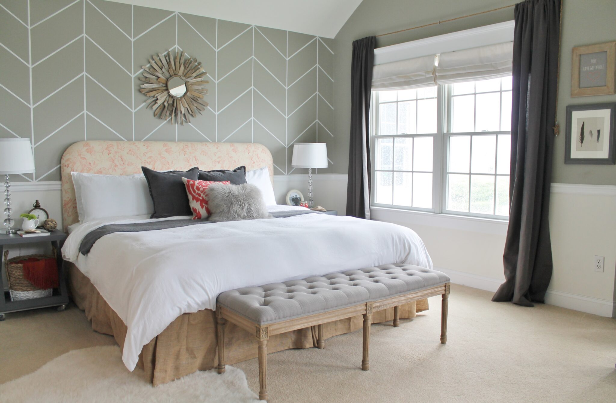 rustic chic budget friendly master makeover city farmhouse on modern farmhouse master bedroom ideas id=41660