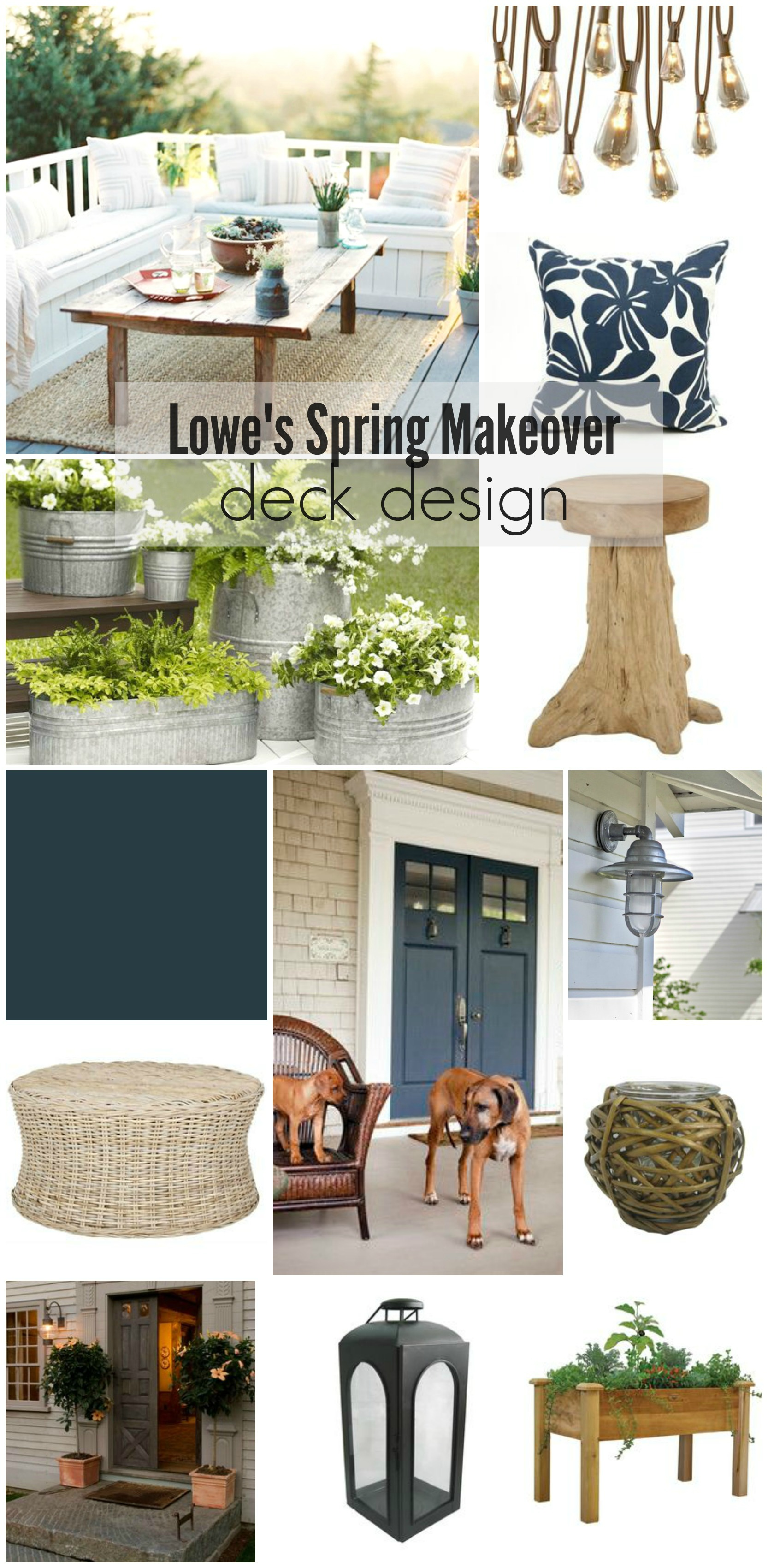 Outdoor Bar Ideas + Surprise Makeover Guest on Lowes Patio Design id=27347
