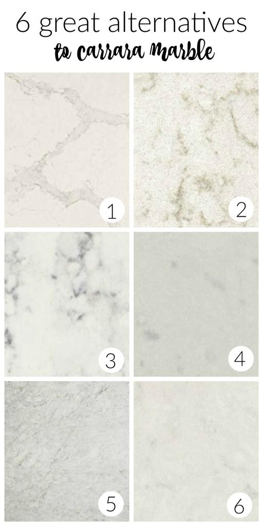 6 great alternatives to carrara marble