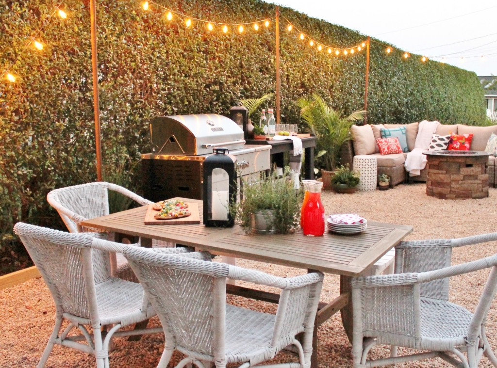 10 Easy Ways To Give Your Backyard Personality - City ... on Small Backyard Entertainment Area Ideas id=38237