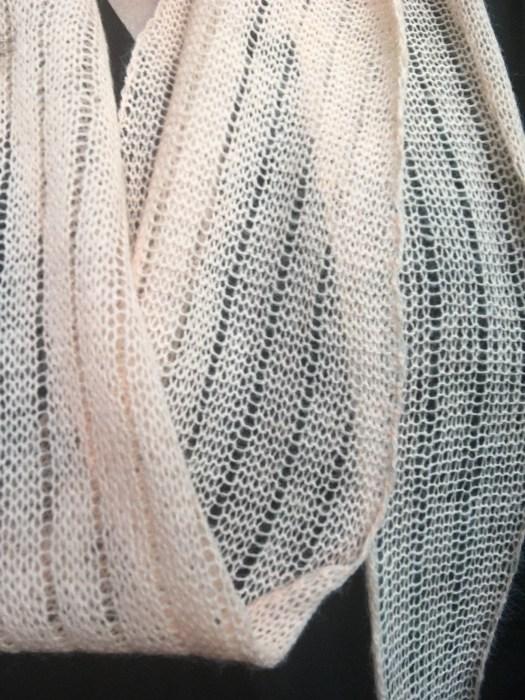 Machine Knit Easy Long Summer Scarf City Farmhouse Studio