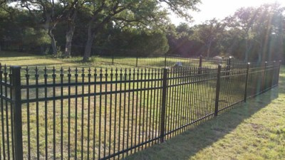 4'Tall Ornamental Iron Fencing