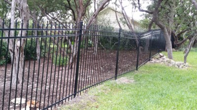 6' Ornamental Iron Fencing