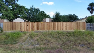 1x6x6' Cedar Board on Board Fencing
