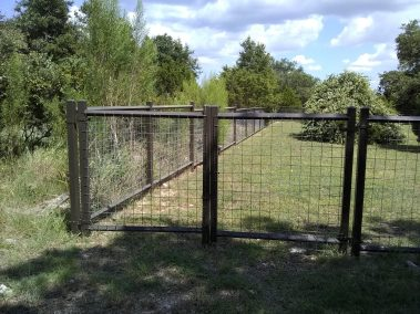 """Combo 5' Tall Orn. Iron Fencing"