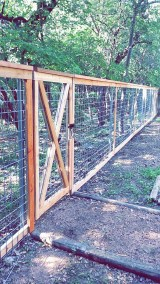 Welded Wire Framed Ranch Fencing