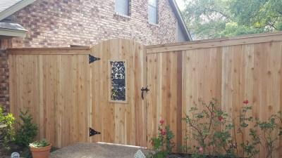 1x4x6' Cedar Fencing