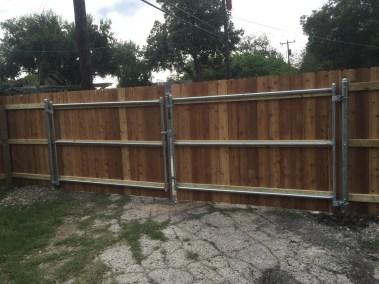 1x4x6' Custom Cedar Fencing