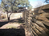 Basketweave Fencing