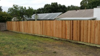 1x6x6' Board on Board Fencing