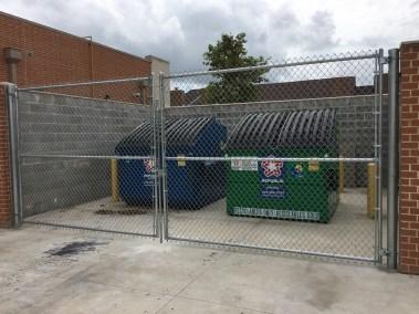 Dumpster Enclosure Gates Fencing