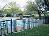 Country Club Pool Fence