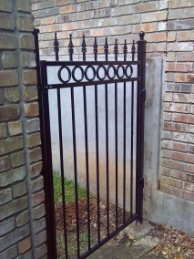 6' Tall Custom O. I. Gate Fencing