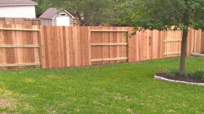1x6x6' Cedar Privacy Fencing
