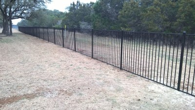 5' Tall Orn. Iron Fence