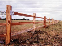 Split Rail Cedar Fencing