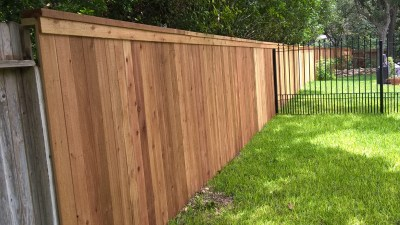 6' Cedar Privacy Fence