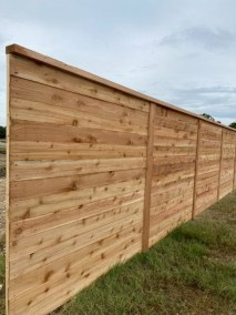 6′ Tall Horizontal Fence