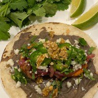 Black Bean and Sweet Potato Tacos